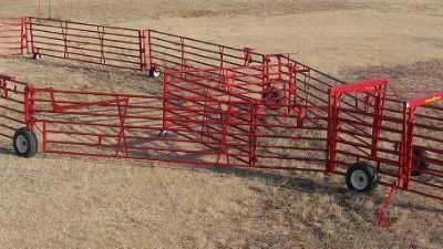 "Diamond ""W"" Wheel Corrals"